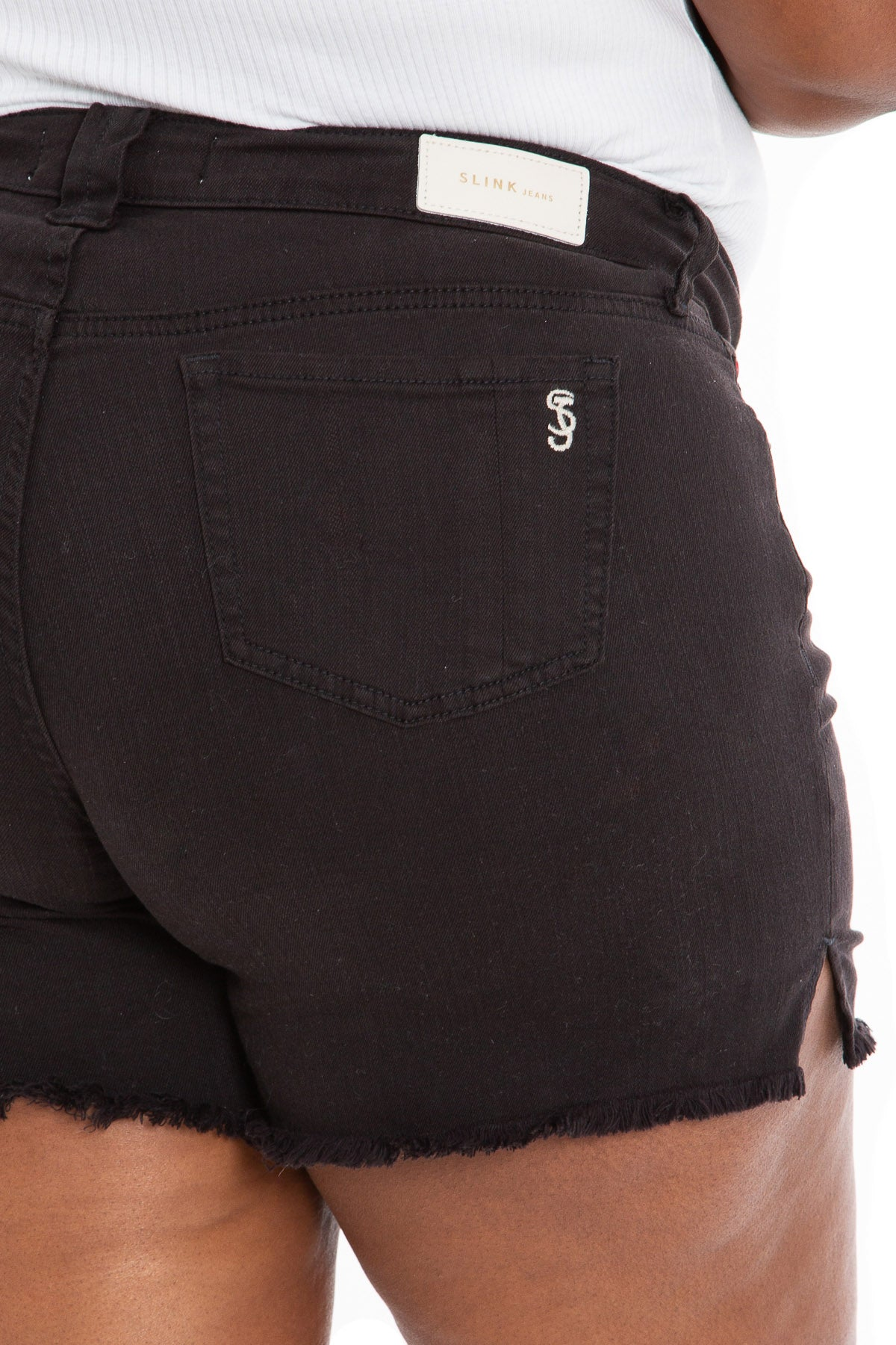 Side Vent Shorts - BLACK