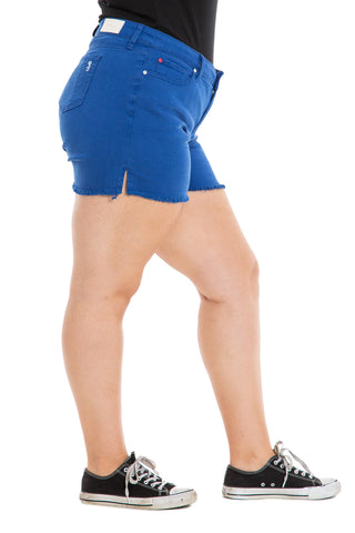Side Vent Shorts - CLASSIC BLUE