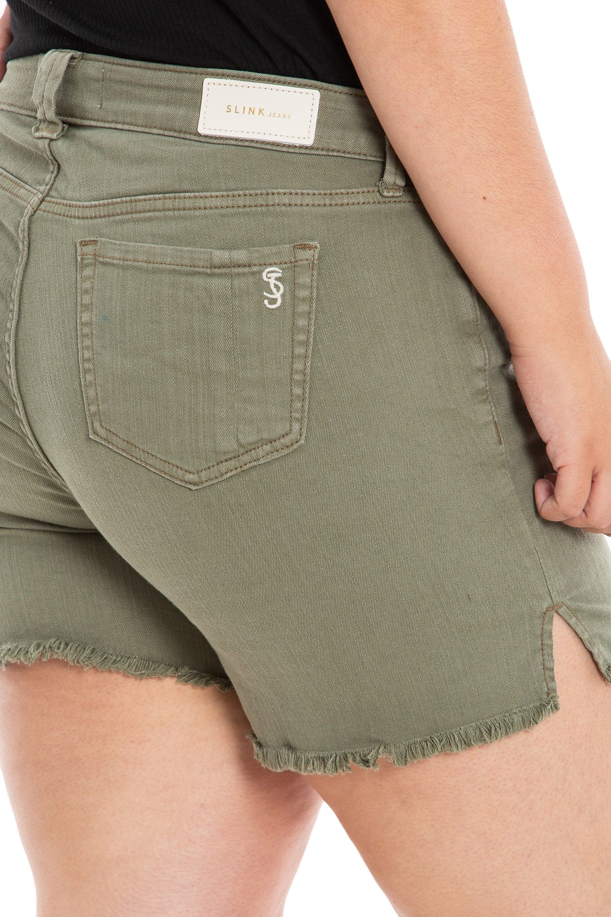 Side Vent Shorts - GABI