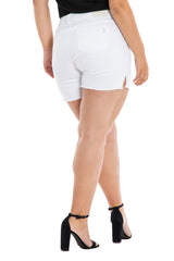 Side Vent Shorts - WHITE