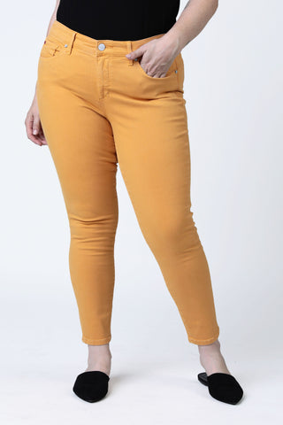 Mid Rise Jegging - Clementine