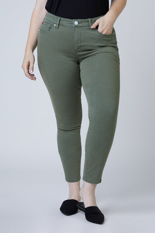 Mid Rise Jegging - Pine