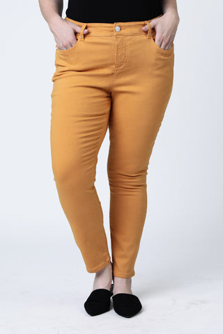 High Rise Ankle Jegging - Clementine
