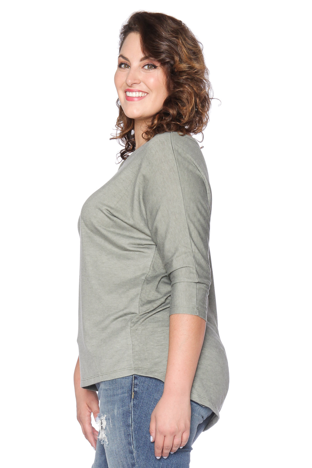 Dolman Sleeve Washed Top