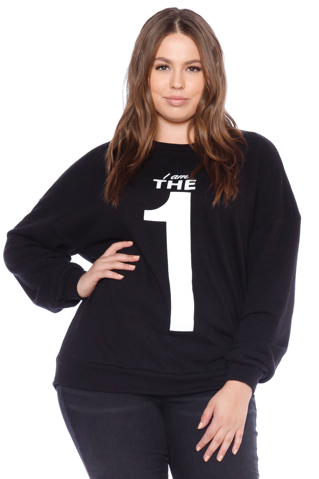 The One Crewneck - BLACK