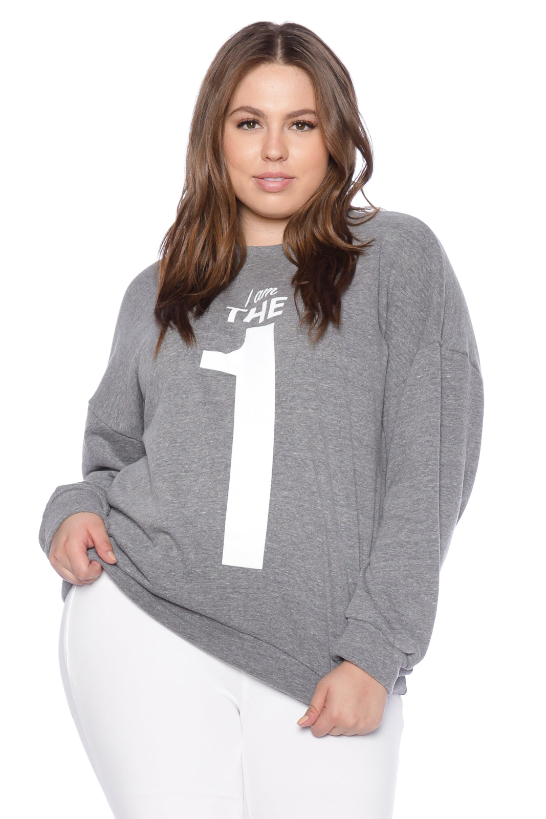 The One Crewneck - HEATHER GREY