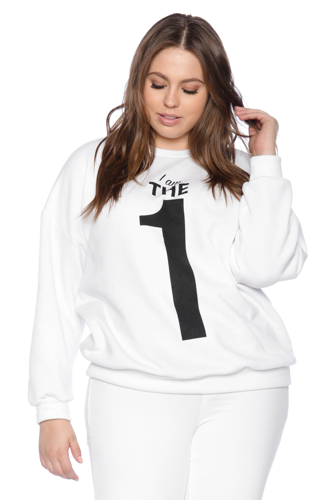 The One Crewneck - WHITE