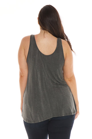 Relaxed Tank - BLACK