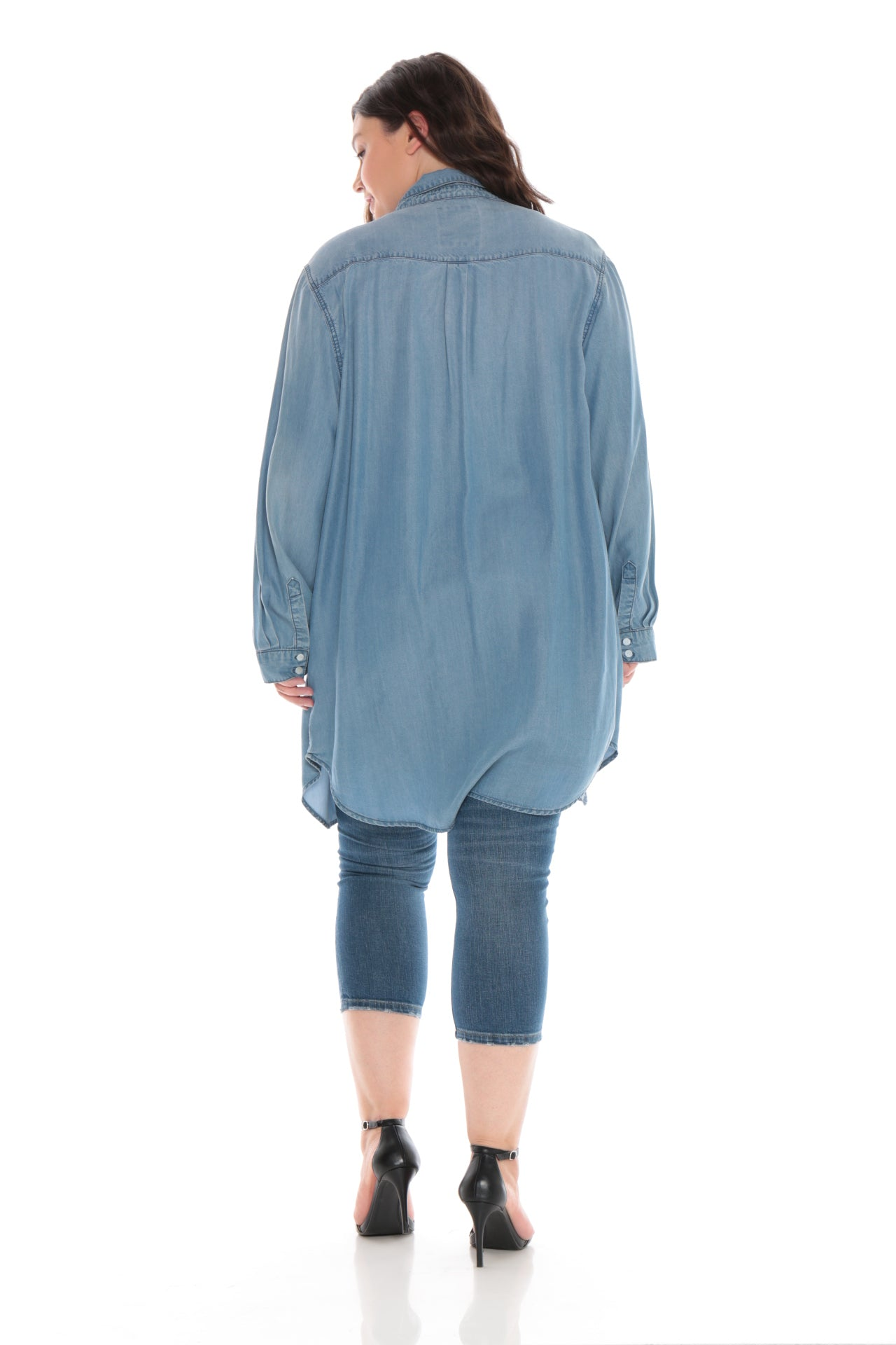 The Tunic Button Down - SKY