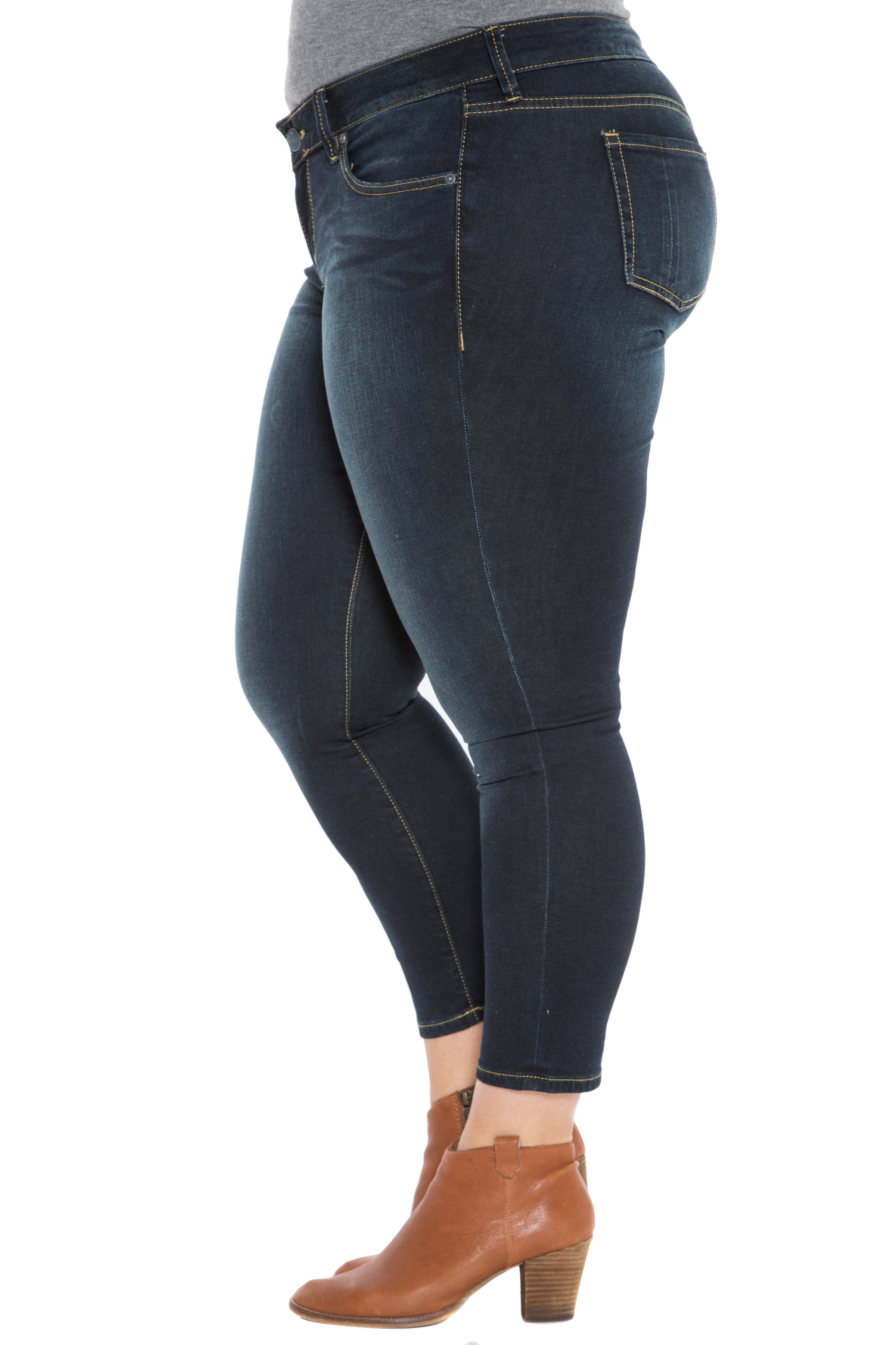 29857683bc8231 The High Waisted Ankle Slim Jegging - SUMMER – SLINK JEANS