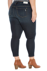 High Rise Ankle Slim Jegging - SUMMER