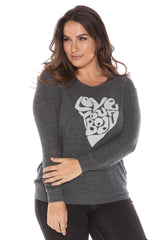 Crew Neck Sweater - LOVE YOUR BODY