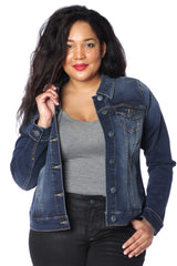 The Denim Jacket - AMBER