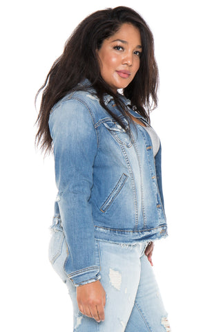 The Denim Jacket - KEZIAH