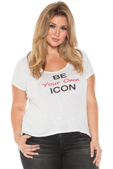 Short Sleeve Tee - BE YOUR OWN ICON