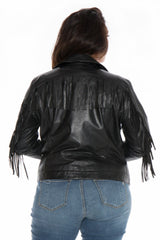 The Fringed Leather Jacket