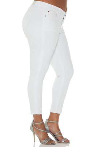 The Ankle Slim - OPTICAL WHITE