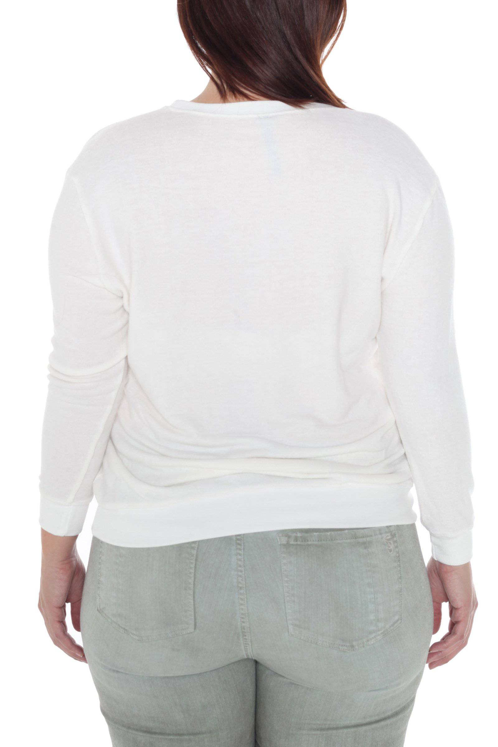 Crew Neck Sweater - BE NOTICEABLE
