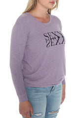 Crew Neck Sweater - BE SEXY