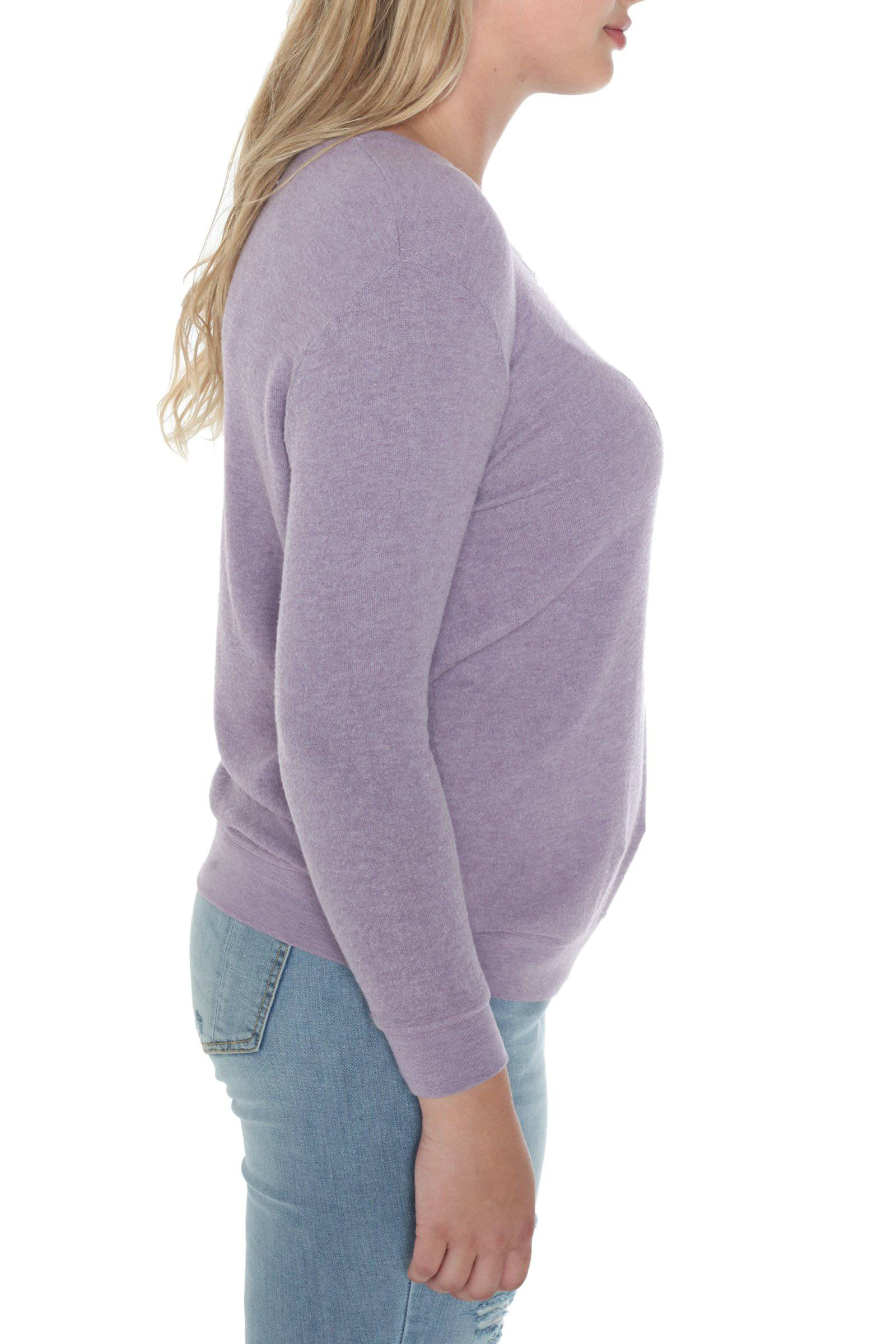 Be Sexy Long Sleeve Crew Neck Sweater