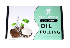 Organic Coconut Oil Pulling Mouth Wash