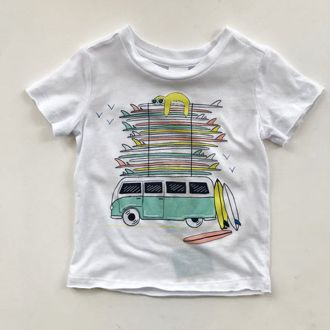 Surf Bus Damian Baby Graphic Tee