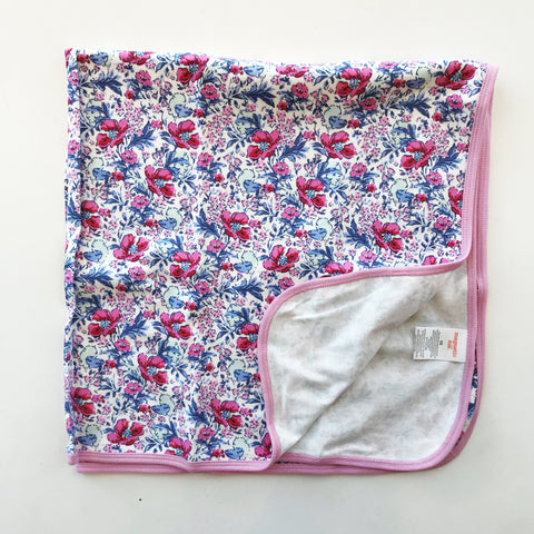 Darlington Floral Organic Cotton Swaddle Blanket