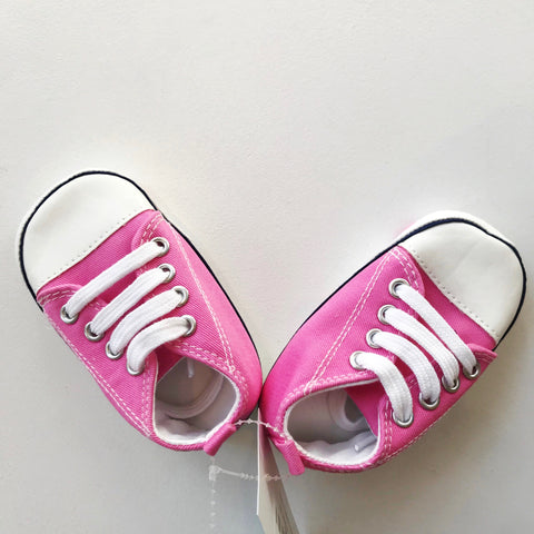Pink Baby Tennis Shoes