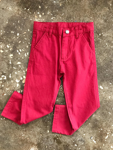 Cranberry Straight Chino Pants