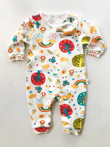 Unicorns and Rainbows Romper
