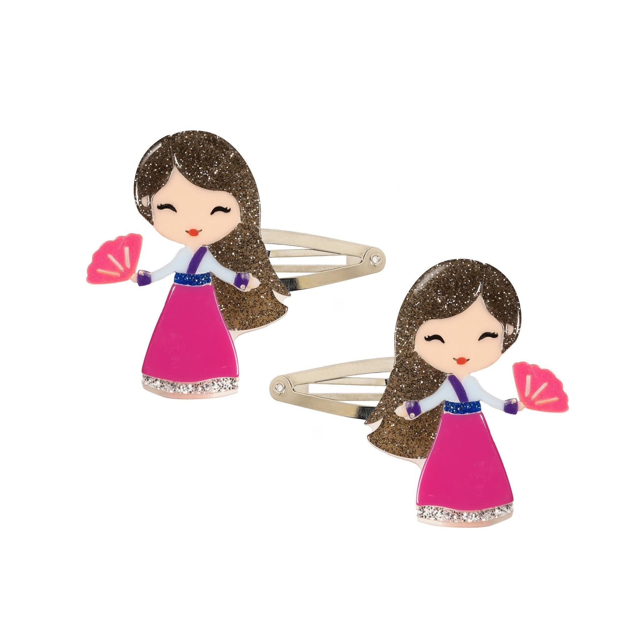 Lillies & Roses Cute Doll Clips