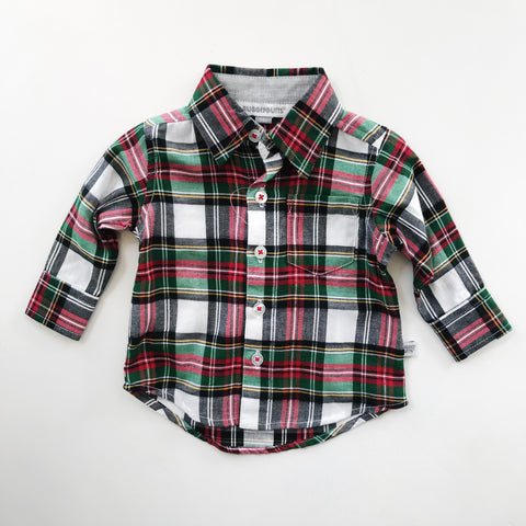 Juniper Plaid Button Down Shirt