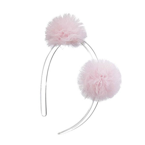 Double Pom Pom Headbands