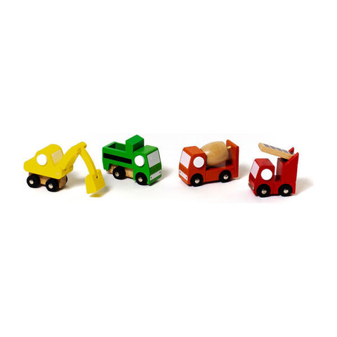 Mini Mover Wooden Construction Trucks