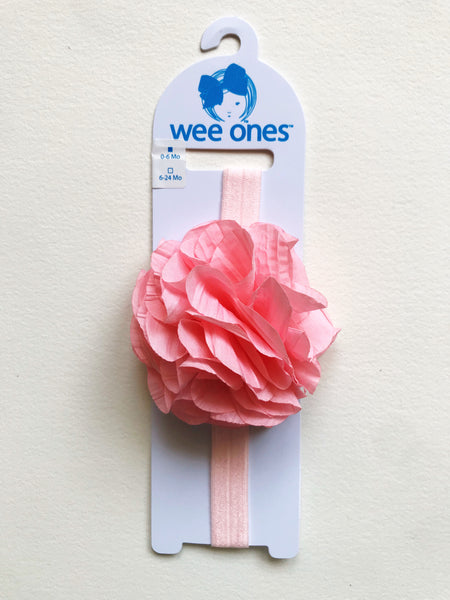 Large Taffeta Flower Headband