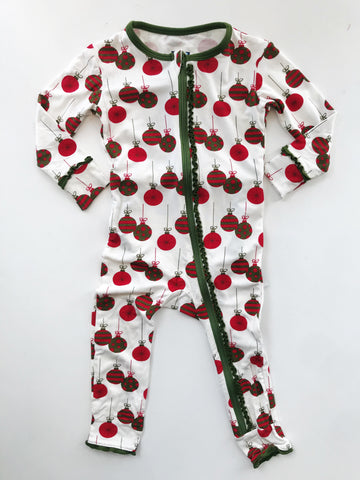 Kickee Pants Muffin Ruffle Ornament Coverall