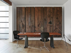 Bring Reclaimed Wood into Your Office Space