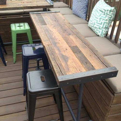 Patio Table. Reclaimed Wood ...