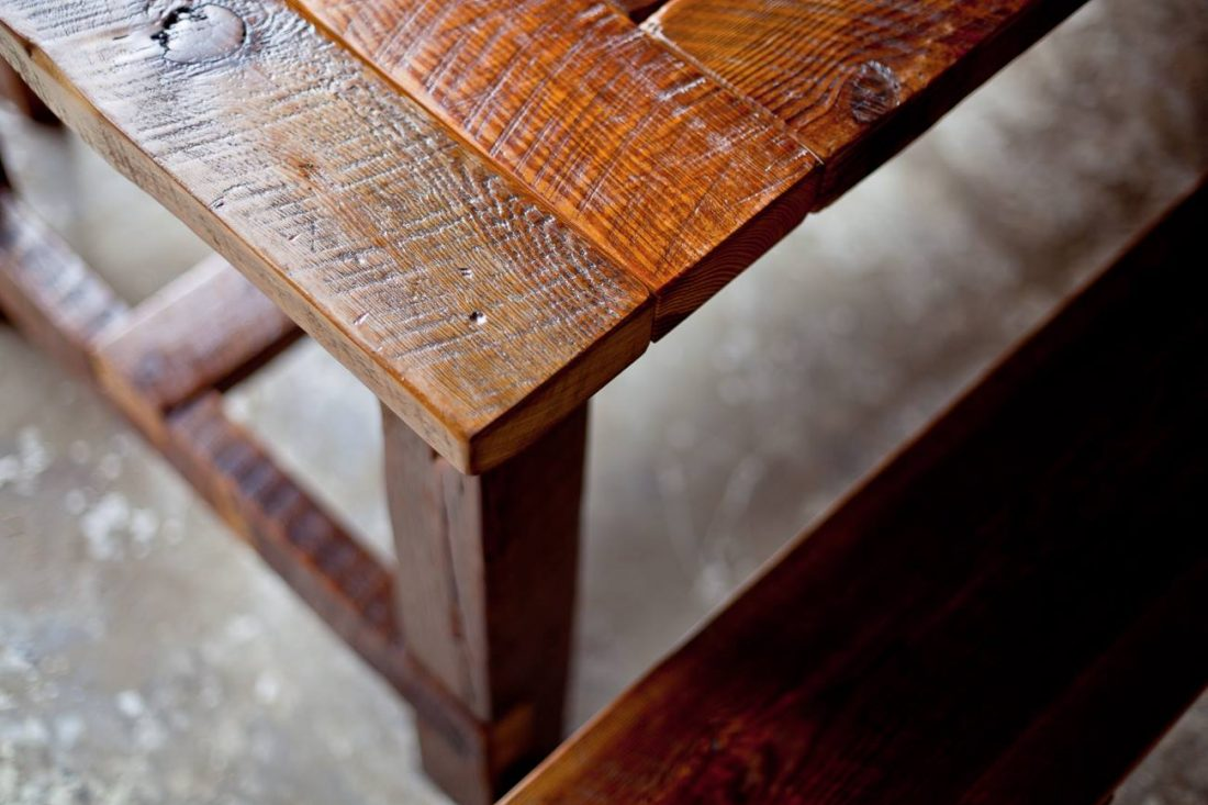 Keeping Your Reclaimed Wood Furniture Looking Beautiful Chicago - Reclaimed wood coffee table chicago