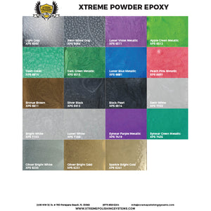 XPS 12oz Powder Epoxy Pigment