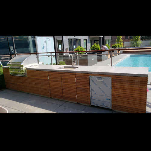 Brazilian Walnut Outdoor Grill