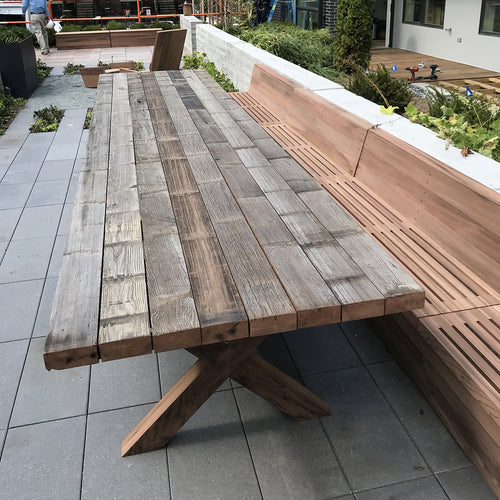 16' Redwood Indoor/Outdoor Table