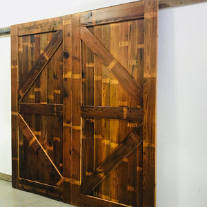 K-Bar Style Barn Door