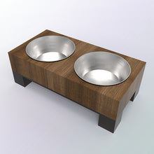 Reclaimed Wood Food Bowl
