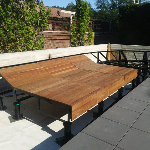 Brazilian Walnut Pool Loungers