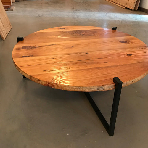 Pinewood Round Coffee Table