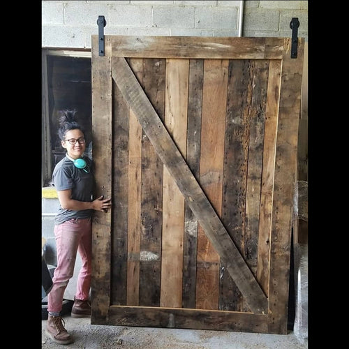 Large Reclaimed Barn Door