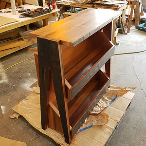 Record Player Stand and Vinyl Storage