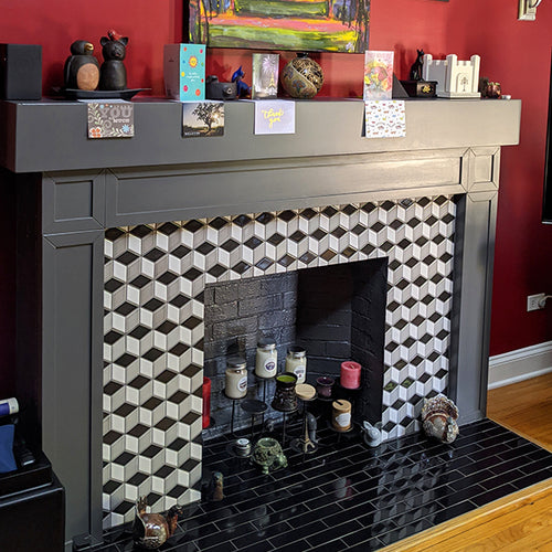 MDF Fireplace Mantel