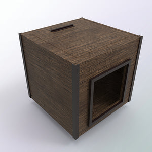reclaimed wood dog house | dog house | Reclaimed Wood | Pet Furniture | Pet Home